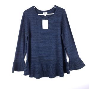 New Style & Co Bell Sleeves Sweater Size XL